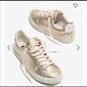 MADEWELL X VEJA STAR SNEAKERS